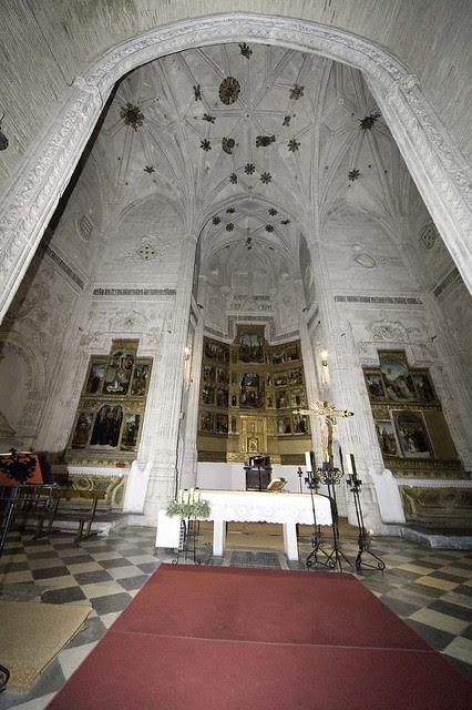 Iglesia de San Andrés en diciembre de 2005. Fotografía de José María Moreno