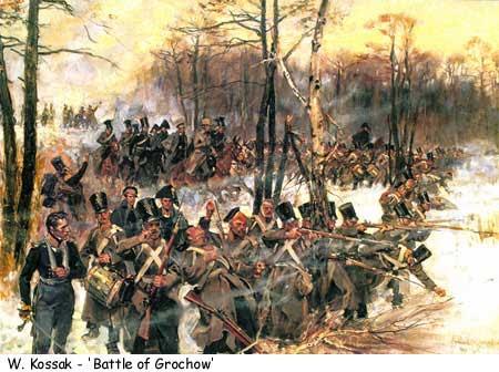 Битката при Олшинка Гроховска.