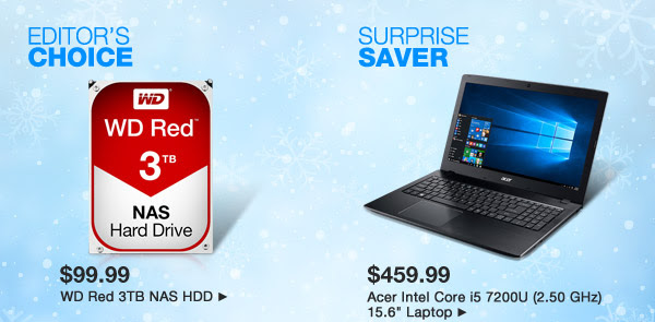 Editor's Choice and Surprise Saver