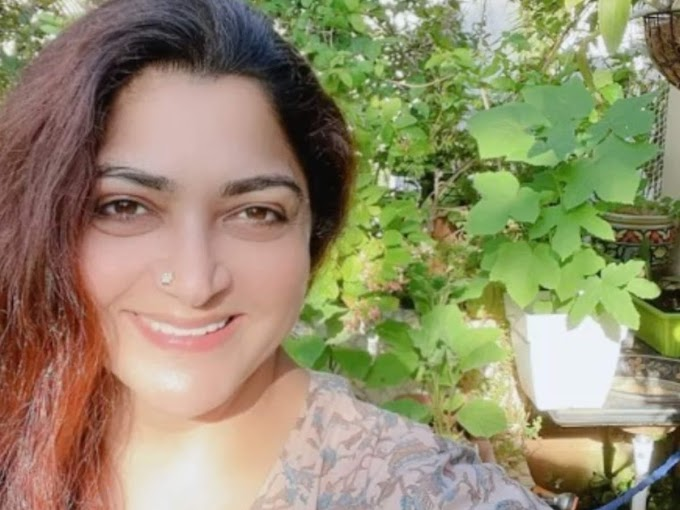 Khushbu shares glimpses of her home garden on social media - Times of India