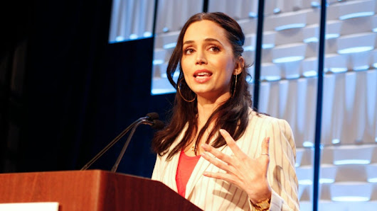 Eliza Dushku details her struggles with alcohol, drugs in inspiring speech at NH Youth Summit