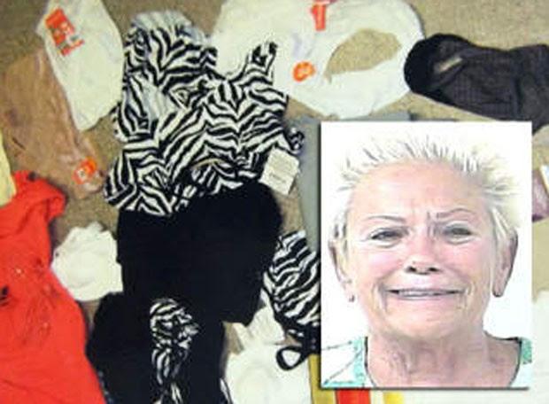 Jo-Ann Dorothy Ricci ganhou apelido de 'ladra de lingerie'. (Foto: Reprodução)