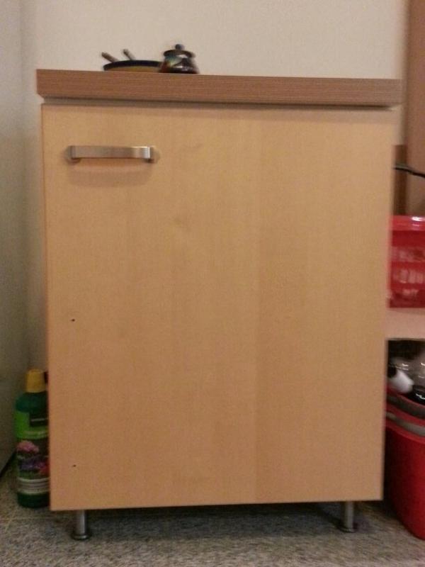 Ikea Küchenmöbel Hochschrank | Metod Hochschrank Mit ...