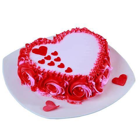 Rossette Heart Cake.