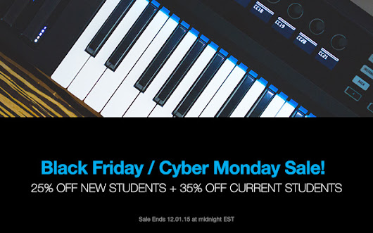 Black Friday / Cyber Monday Sale + New Course Dates Added | Dubspot