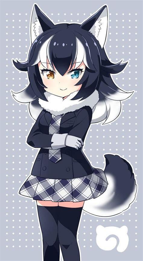 pin  akuma cero  characters anime wolf girl anime