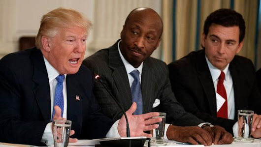 The question isn't why Merck's boss quit Trump's CEO council; it's why any other CEOs are staying