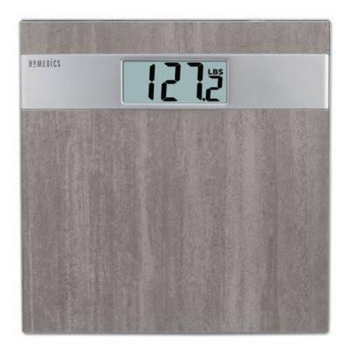 Homedics Grey Stone Digital Bath Scale