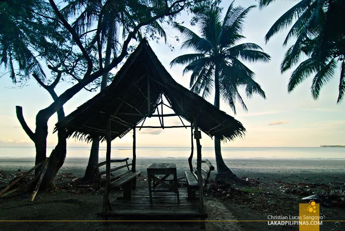Beach Hut at Jawili Beach in Tangalan, Aklan