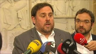 El vicepresident del govern i conseller d'Economia i Hisenda, Oriol Junqueras