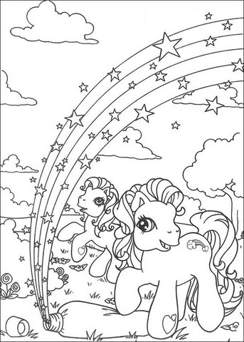 little pony coloring page  supercoloring