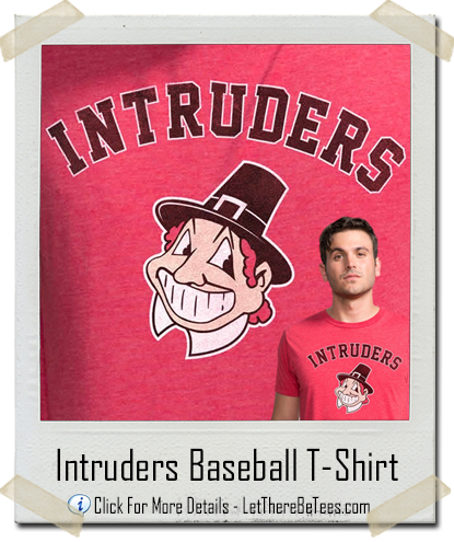 Intruders Baseball Team T-Shirt
