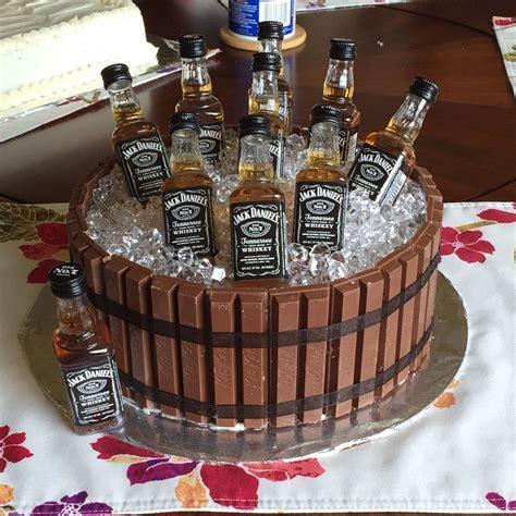 Jack Daniels KitKat barrel cake   Cakes   Pinterest   Jack