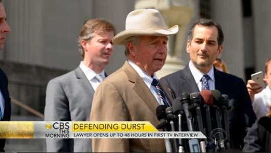 Dick DeGuerin Press Conference for Robert Durst (with image) · ocrecord