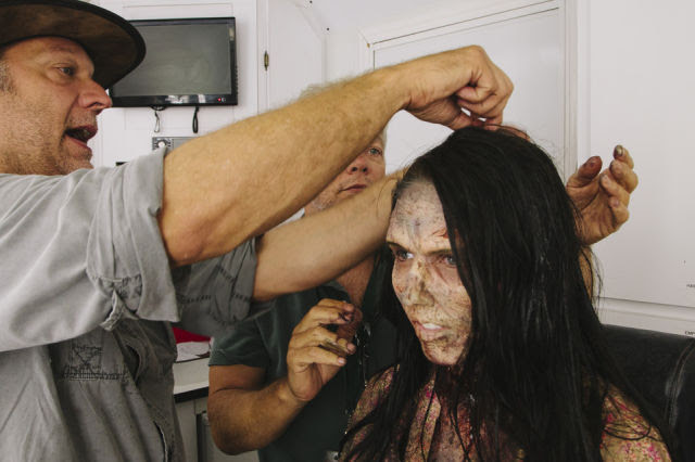 She Looks So Normal: Now See Her Zombie Transformation