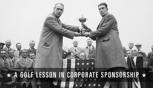 A Golf Lesson in Corporate Sponsorship