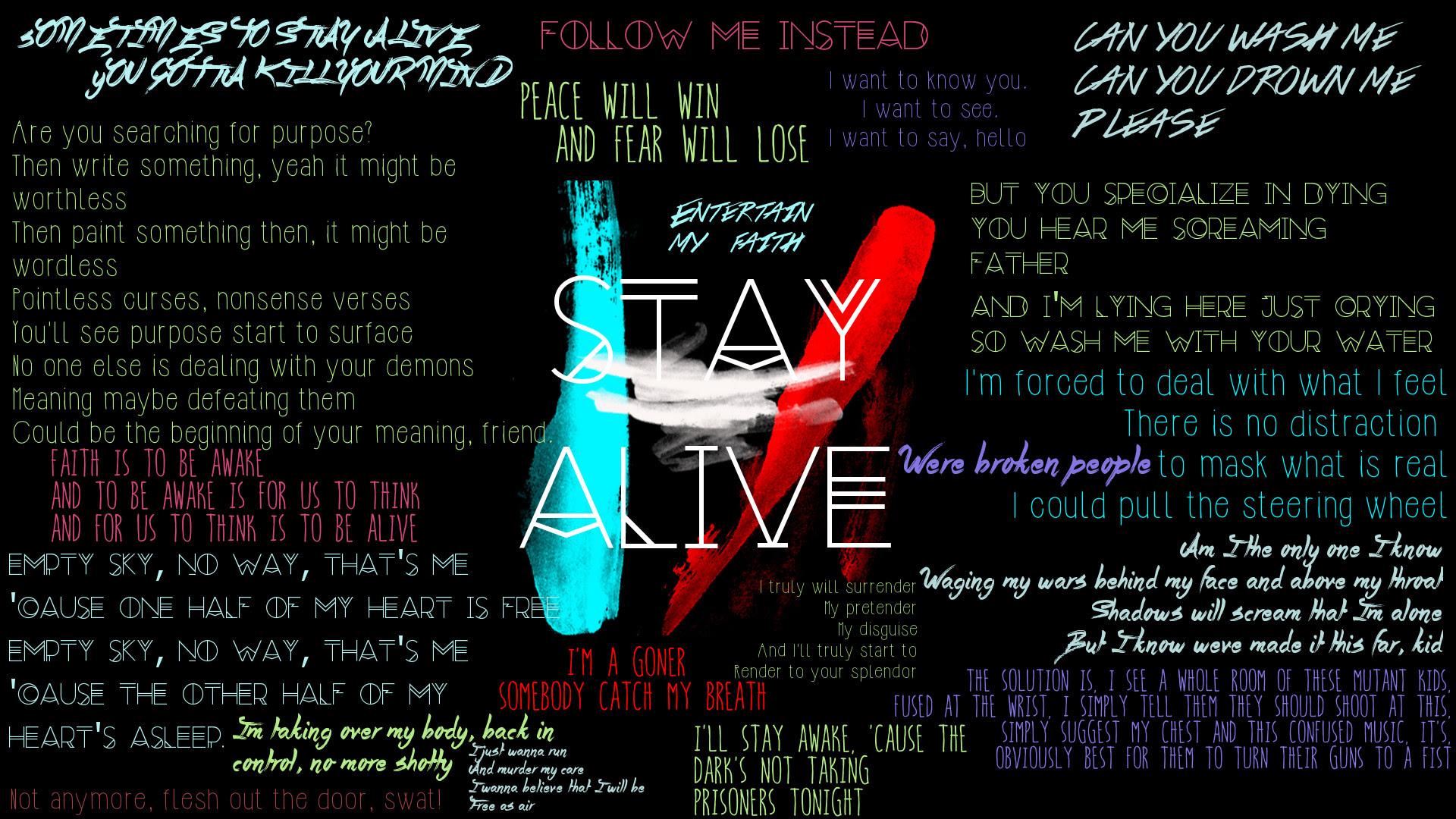 Twenty One Pilots Lyrics Wallpaper 89 Images