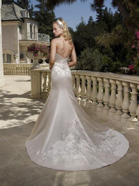 Casablanca 1985 Wedding Dress Size 6   Nearly Newlywed