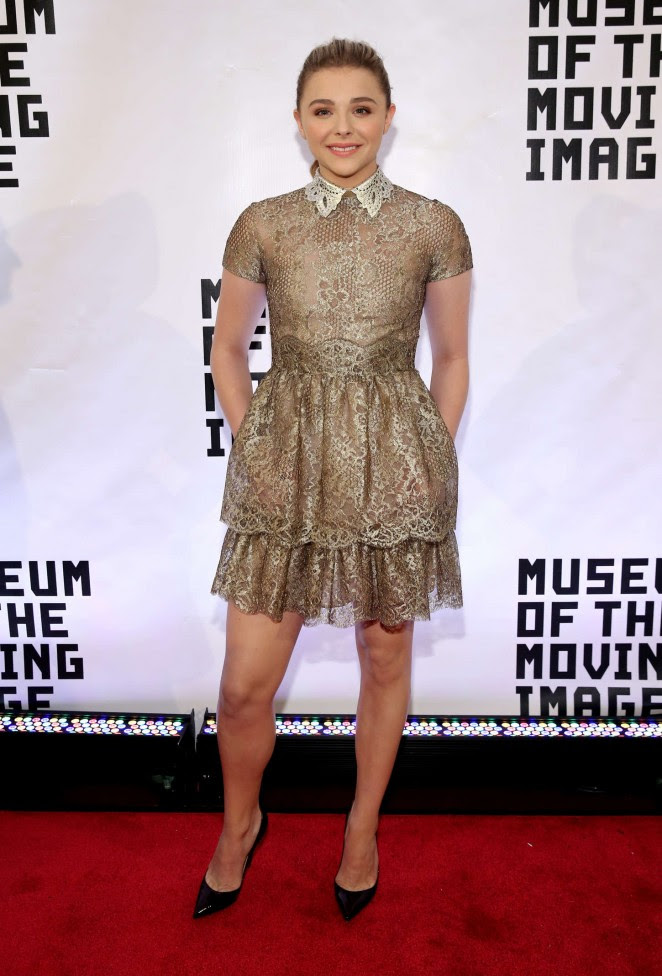 Chloe Moretz: Museum of The Moving Image honors Julianne Moore -03