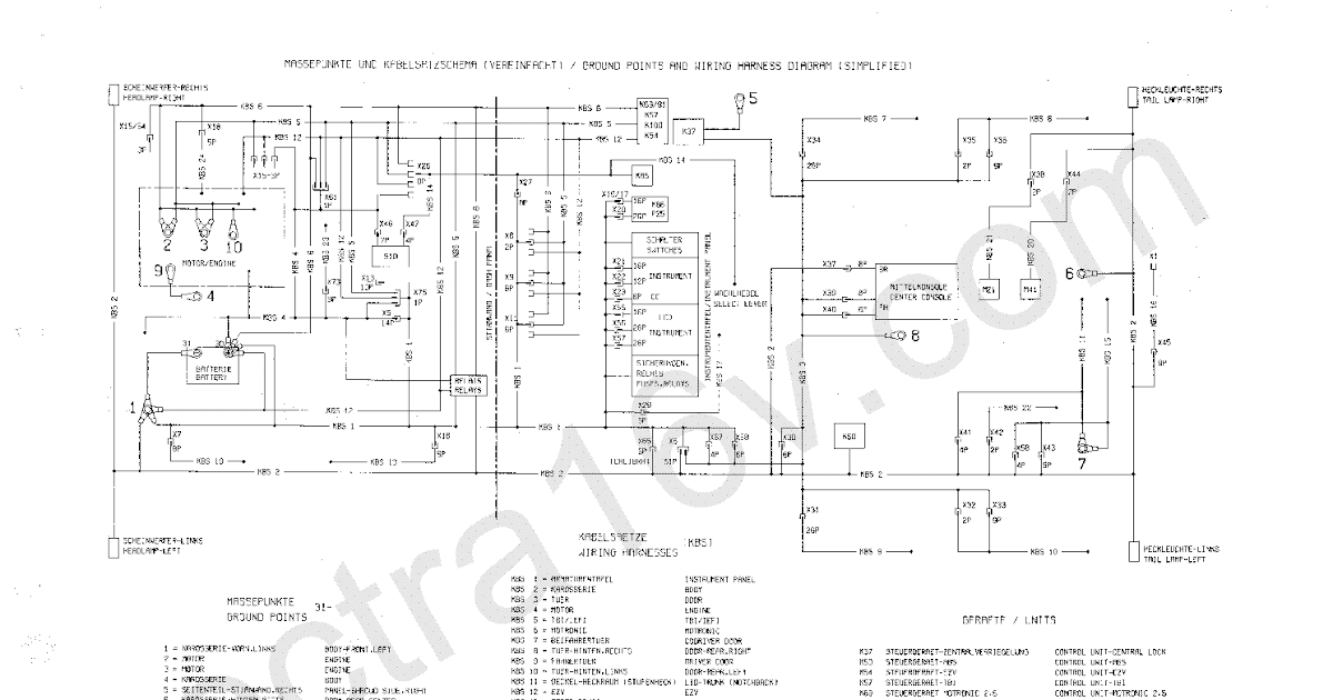 ALL Download Opel Astra 1 6 Wiring Diagram