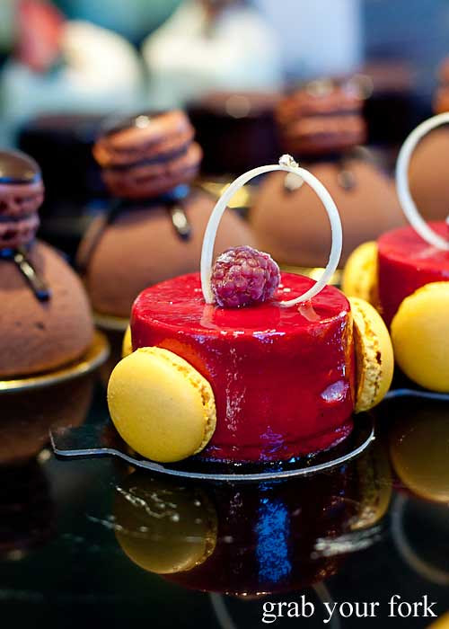 raspberry and passion fruit mousse