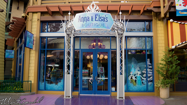 Disneyland Resort, Downtown Disney, Anna, Elsa, Boutique, Frozen