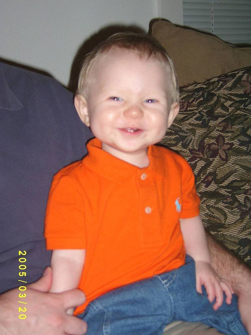 Gabriel in orange polo shirt 20Mar05