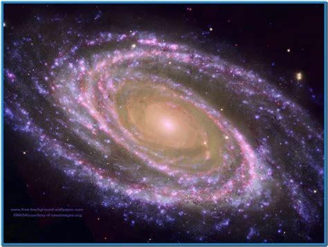 spinning galaxy screensaver mac