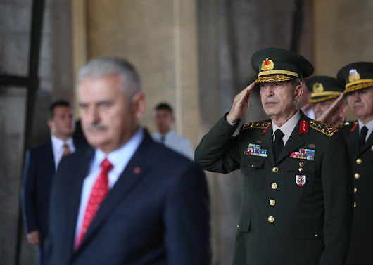 Turkey's Chief of General Staff visits Mocow