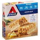 Atkins Lemon Bar - 5 pack, 1.41 oz bars
