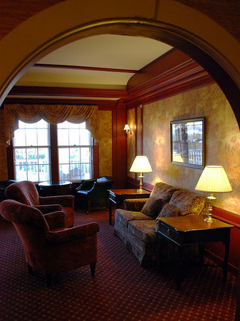 View into the Dodge Parlor