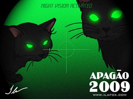 gatos pretos na sexta-feira 13 pós-apagão