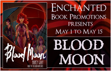 New Fantasy Release: Blood Moon by Nancy Gray, Plus Giveaway!
