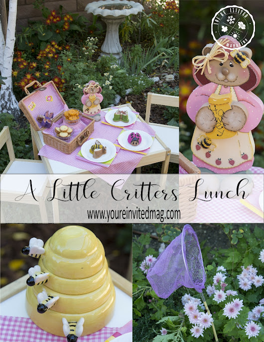 Little Critters Lunch in the Garden - Youre Invited Magazine