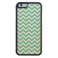 Trendy Chevron Carved iPhone 6 Bumper Wood Case Carved® Maple iPhone 6 Bumper Case