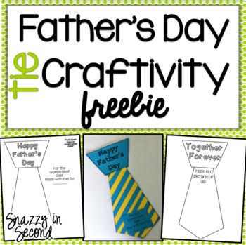 Father's Day Tie Craftivity Freebie