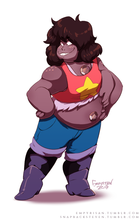 "Smoky Quartz!!!""If you've got a problem with Earth, I've got a problem with you!"" For @snapbacksteven​ and @pyjamathyst​, two fantastic quartz siblings!!! A collaboration between me and..."