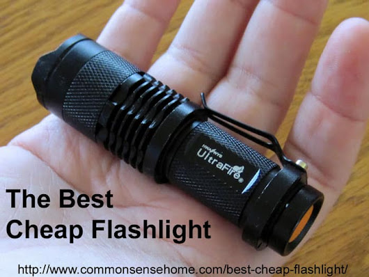 The Best Cheap Flashlight