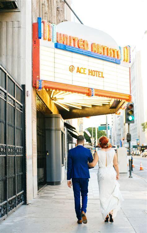 Ace Hotel downtown LA wedding   Bright DTLA wedding   100