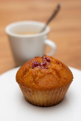 Muffins à la framboise by Patatitphoto