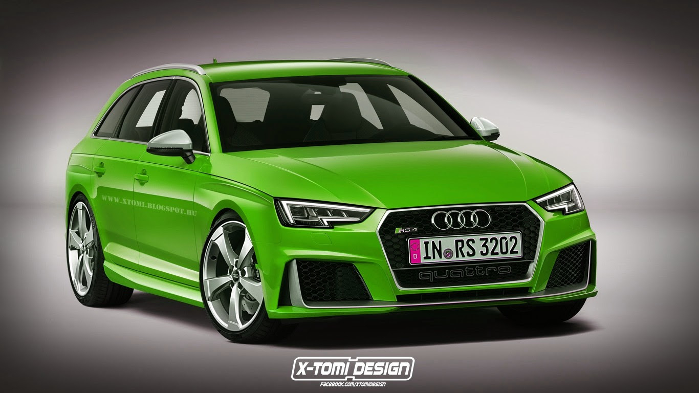 2017 Audi RS4 Avant Rendered, But What Will Power It?
