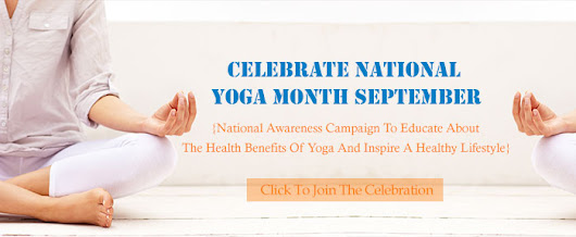 Free Yoga in Sept for Natl. YogaMonth at CYS! ✌❤