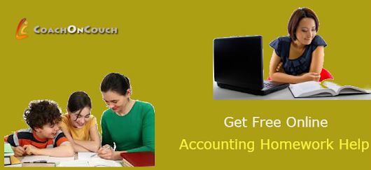Get Free Online Accounting, Statistics Homework Help For Better Academic Results - CoachOnCouchUSA