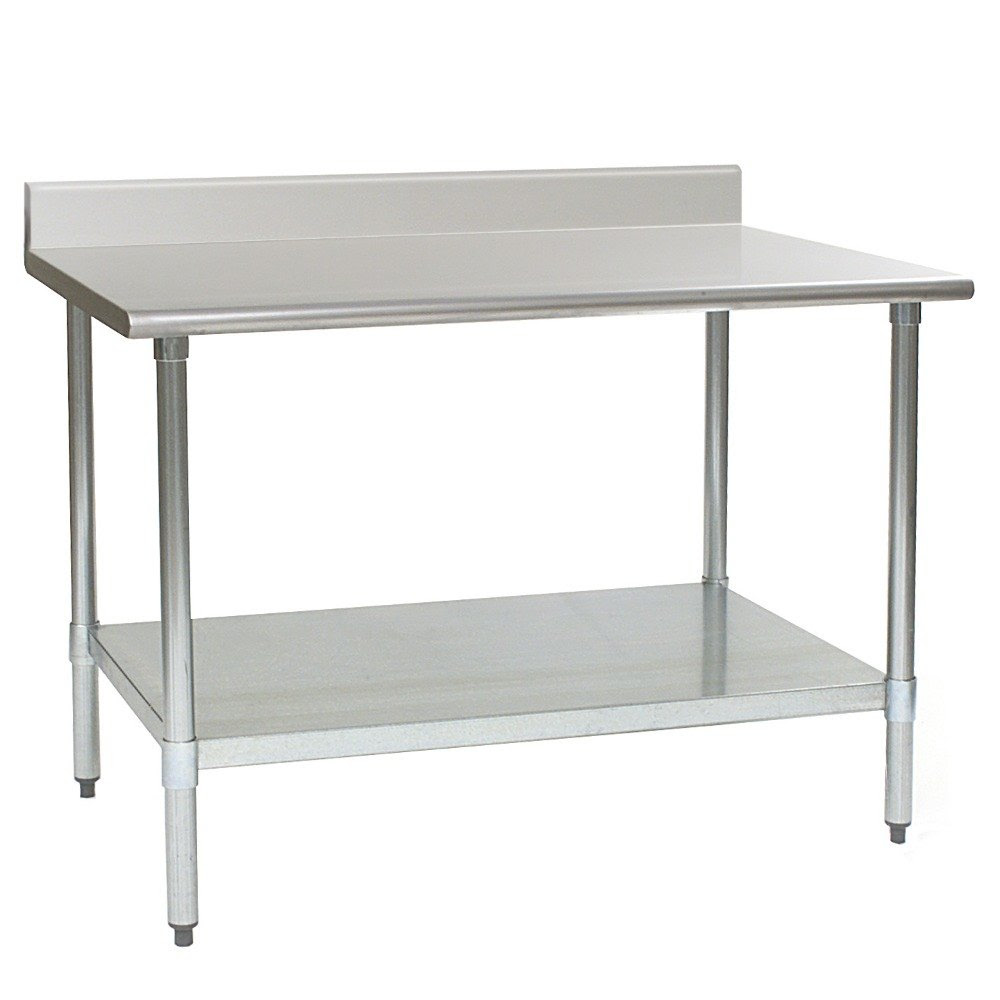 """Eagle Group T3060SEM-BS 30"""" x 60"""" Stainless Steel Work ..."""
