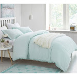 Supersoft Bedding Duvet Set by Byourbed Hint of Mint, Size: Twin XL