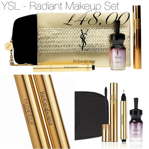 YSL Radiant Makeup set