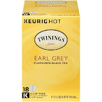 Twinings Earl Grey Tea K-Cups - 18 count, 0.69 oz cups