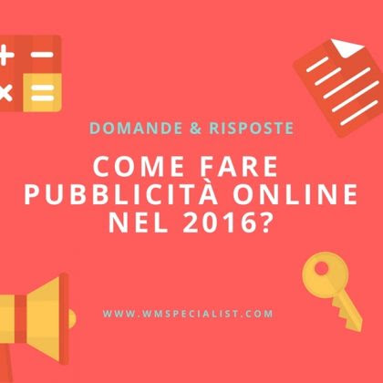 Web Marketing Tools - Consigli pratici di Internet Marketing on-line