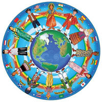 Around the World Floor Puzzle