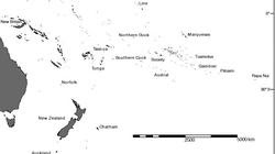 Rapa Nui, en el mapa